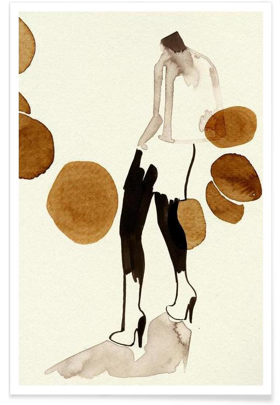 Fashion Illustrations, Silhouette 01 Poster