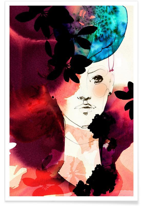 Portraits, Valerie Poster