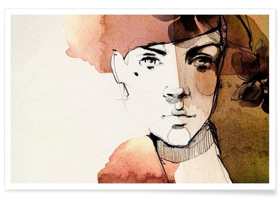 Portraits, Vine Poster