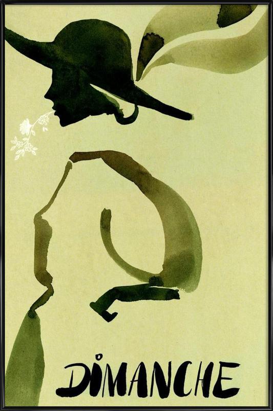 Dimanche Framed Poster