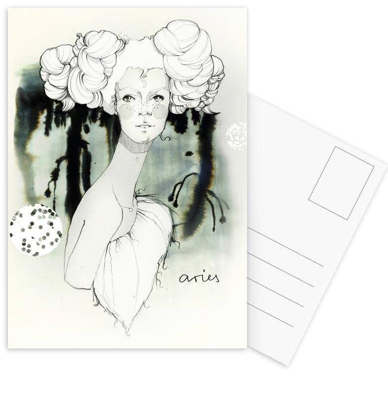 Widder Postcard Set