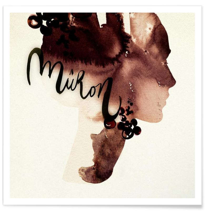Mûron Poster