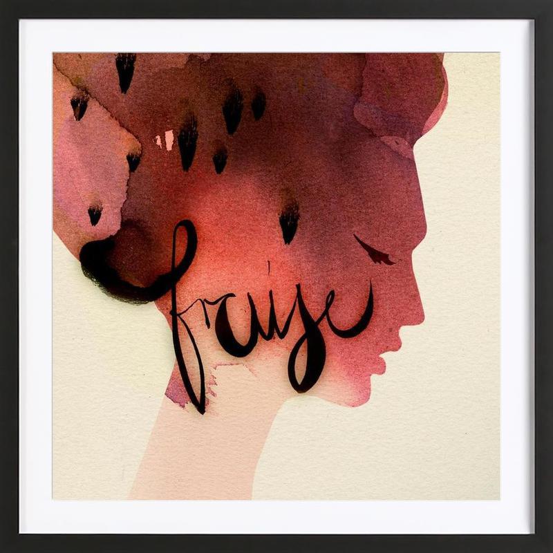 Fraise Framed Print