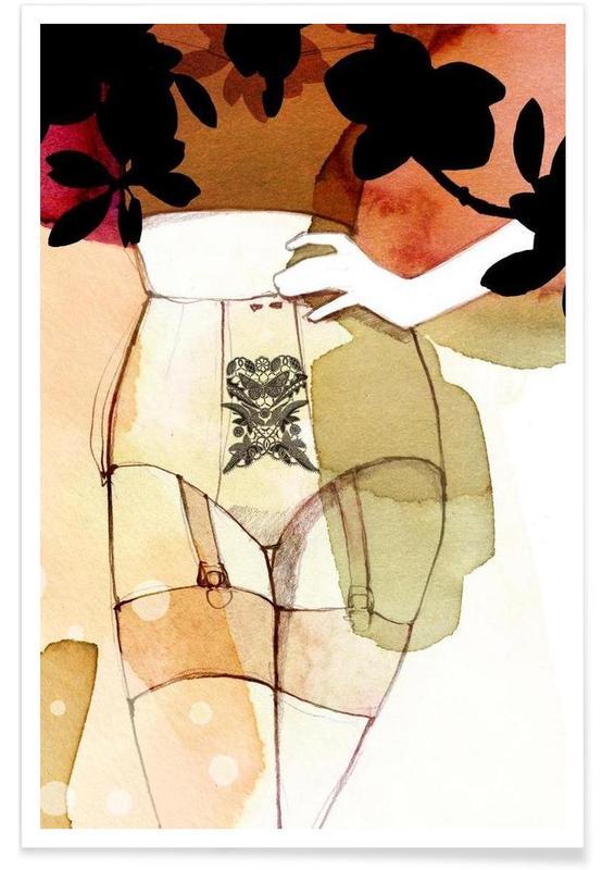 Body Close-Ups, Fleur Poster