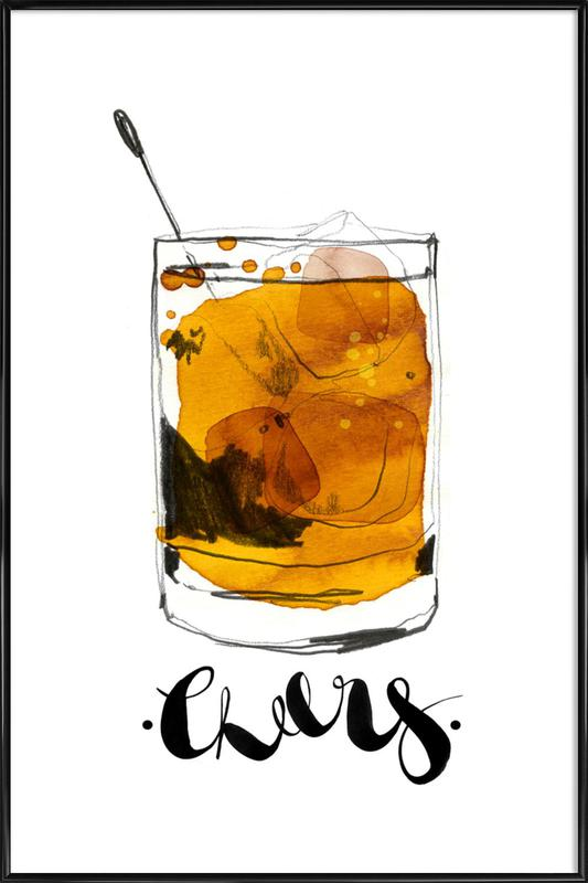 Cheers ingelijste poster