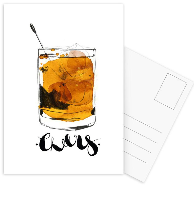 Cheers Postcard Set