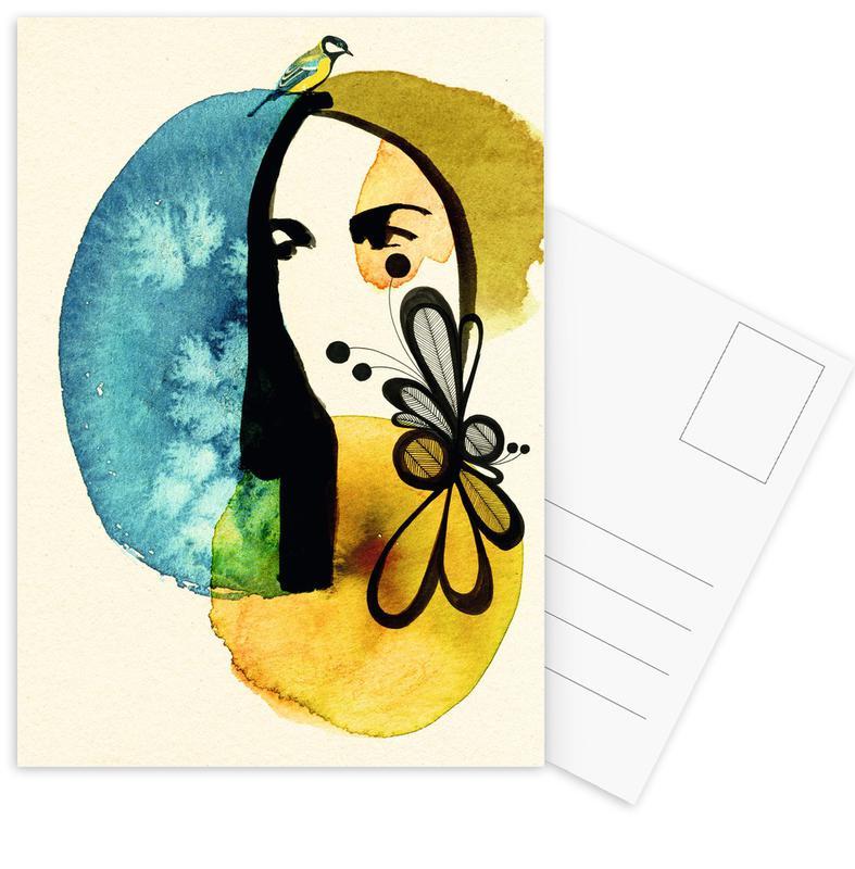 Doll 2 Postcard Set