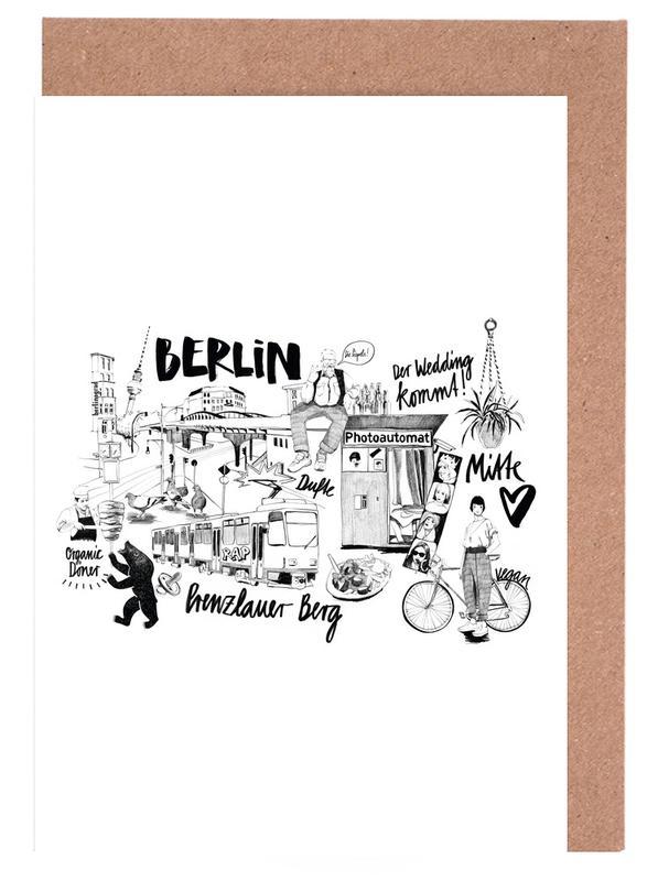BERLIN 2 -Grußkarten-Set
