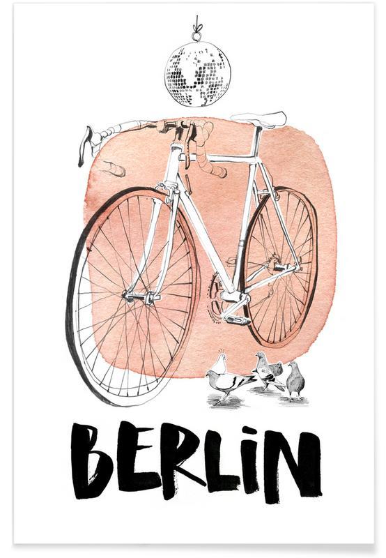 Berlin, Reise, Täubchen -Poster