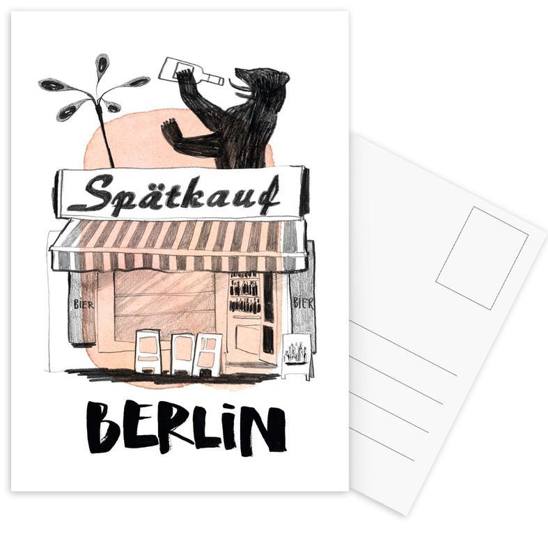 Späti Postcard Set