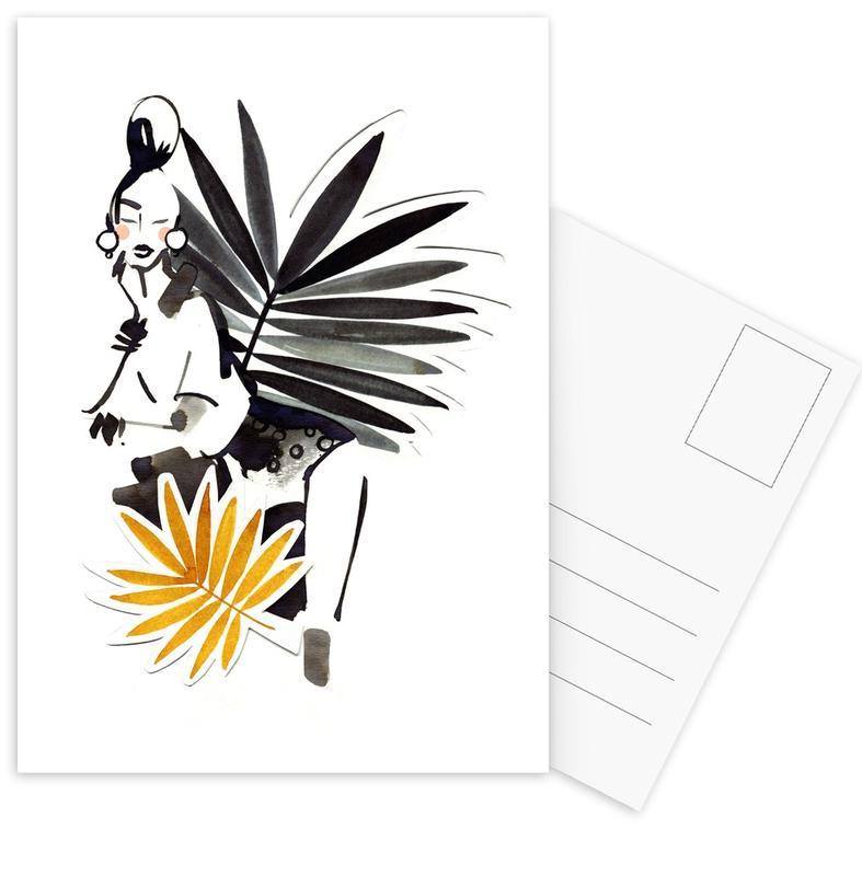 Miss Palmé Postcard Set