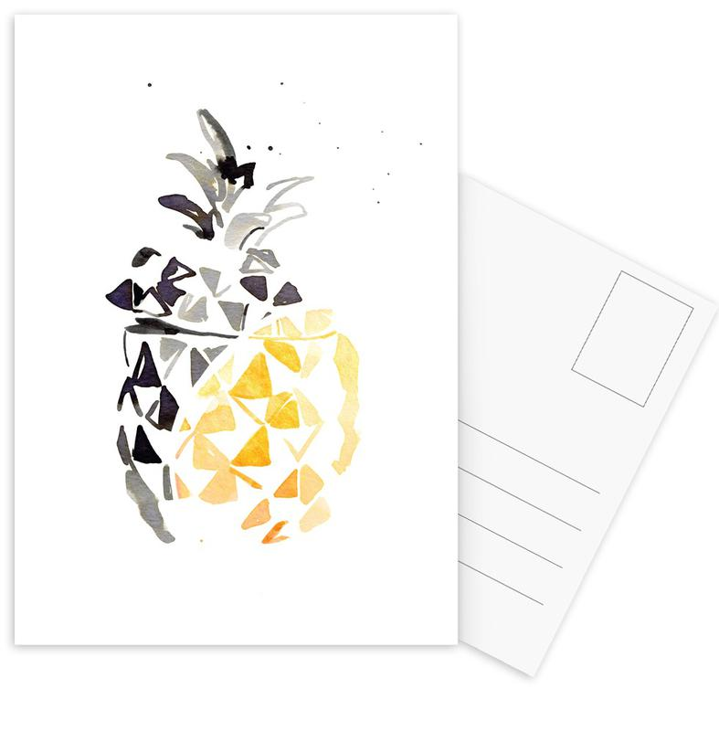 Ananas Postcard Set