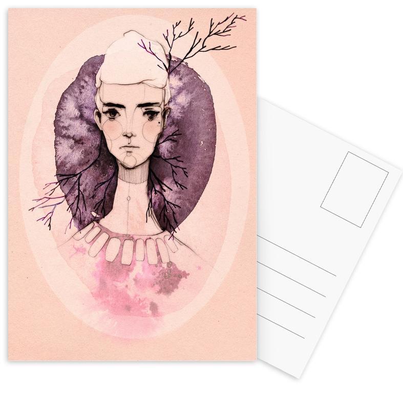 Lilac Postcard Set