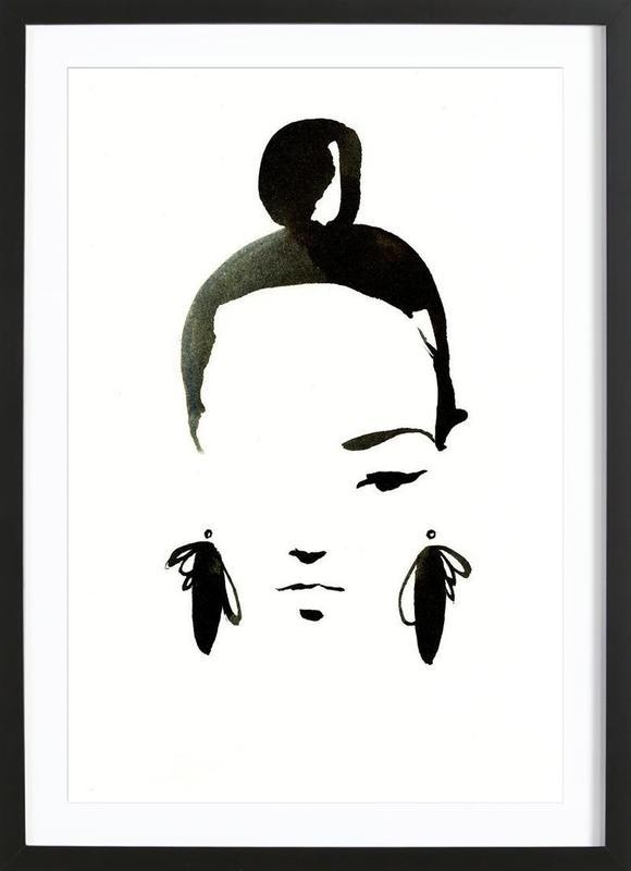 Face Nr. 1 Framed Print