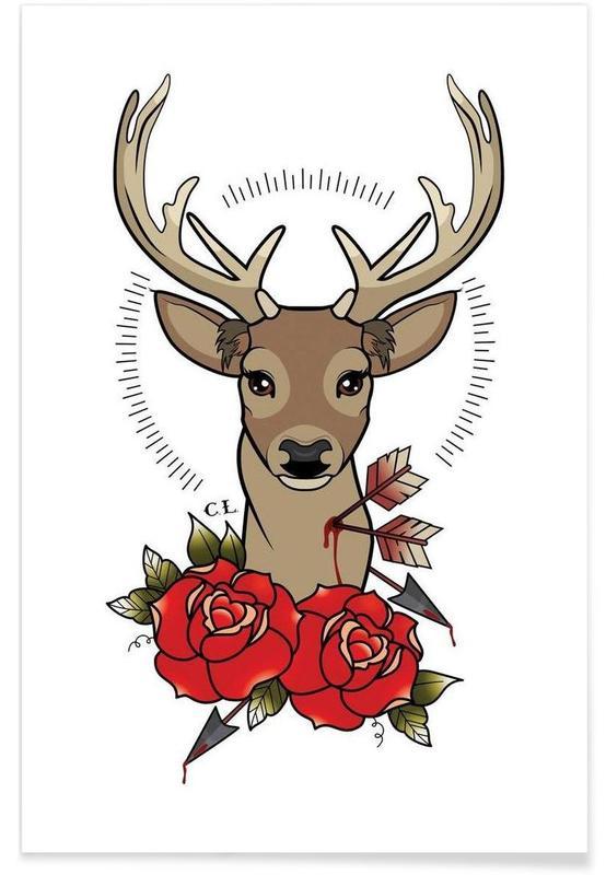 Deer, Deer Poster