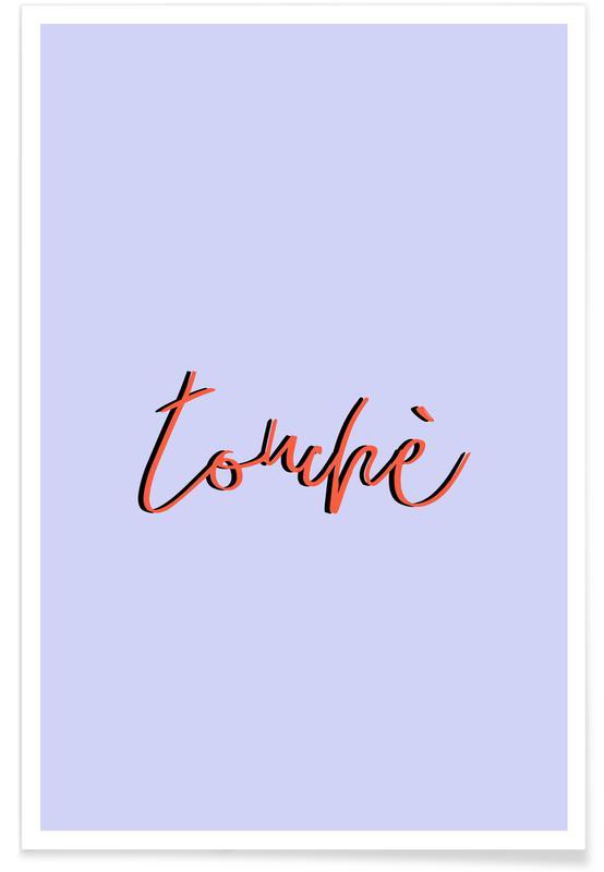 Citations et slogans, Touche affiche