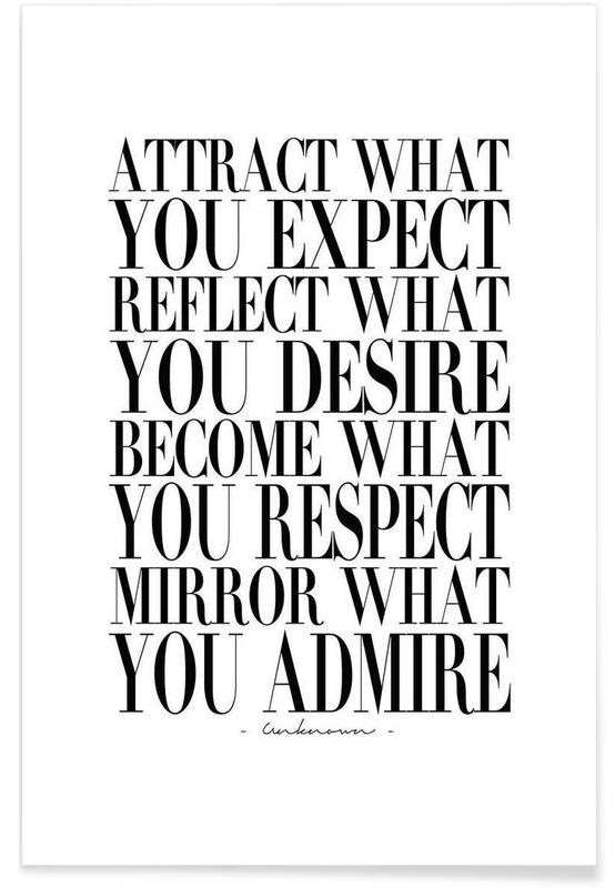 Attract What You -Poster