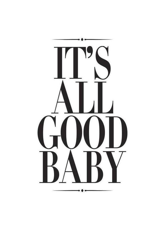 It's All Good Baby Canvas Print