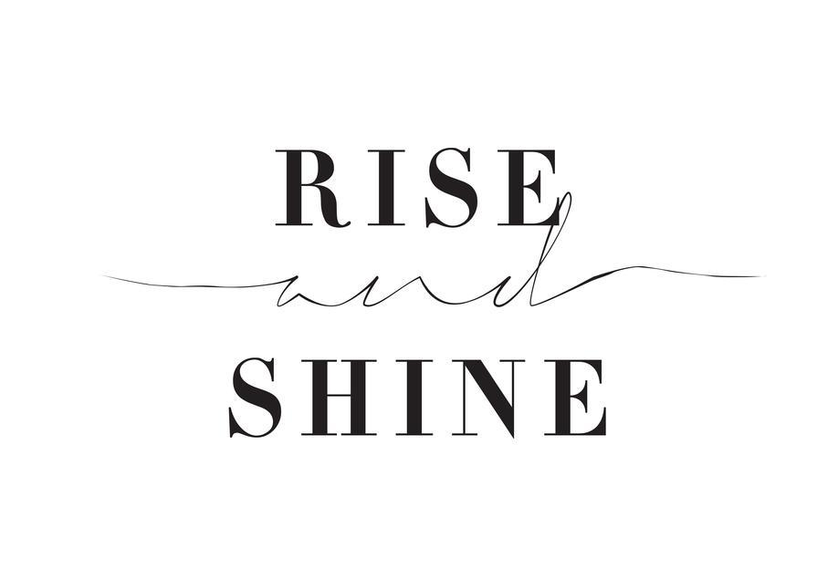 Rise and Shine Aluminium Print