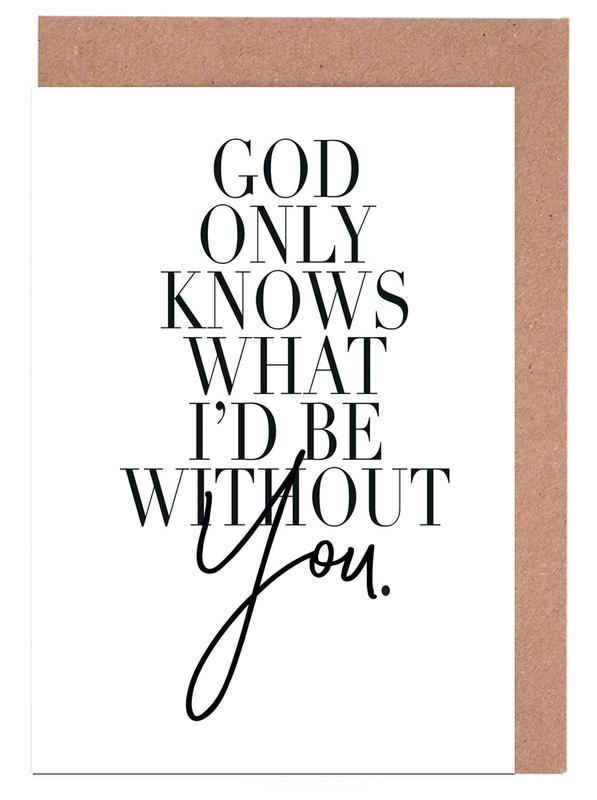 God Only Knows cartes de vœux