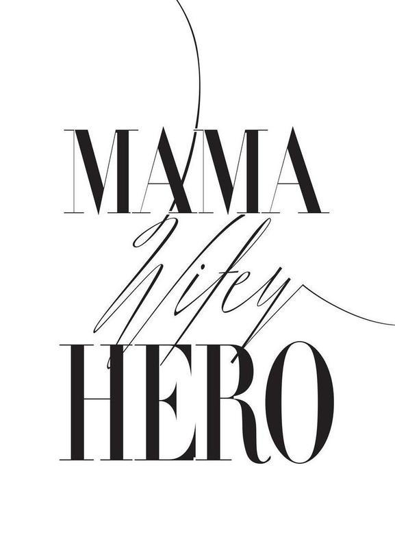 Mama Wifey Hero toile