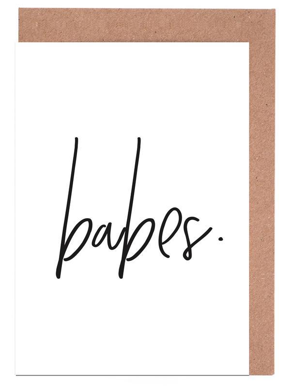 Babes Greeting Card Set