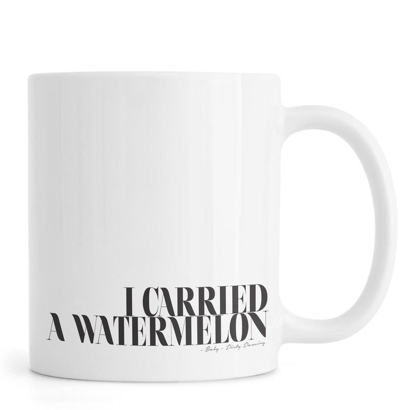 I Carried A Watermelon Mug