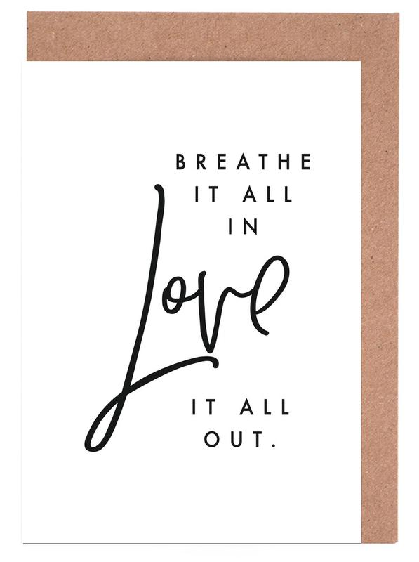Breathe Greeting Card Set