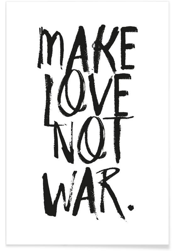 Noir & blanc, Citations d'amour, Make Love affiche