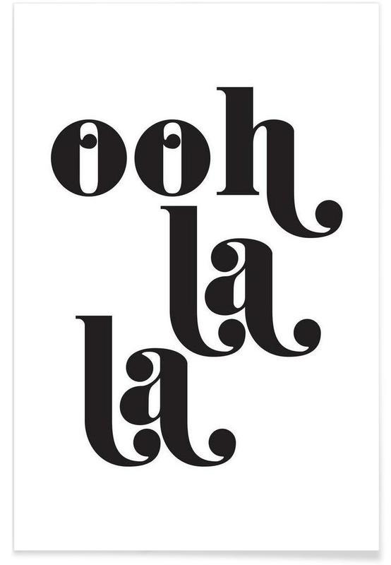 Noir & blanc, Ooh La La affiche