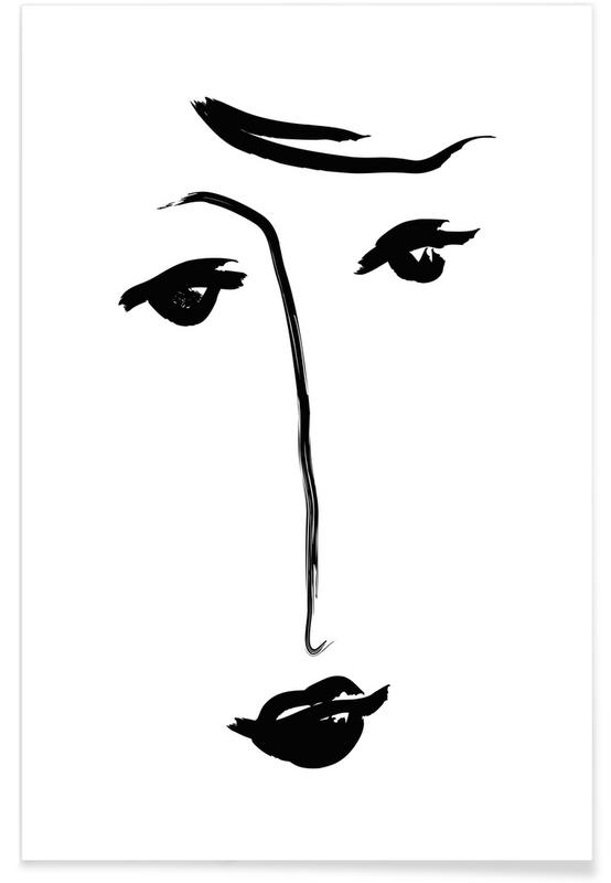 Black & White, Why The Long Face Poster