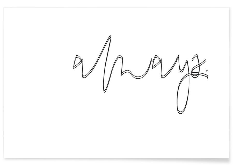 Schwarz & Weiß, Always -Poster