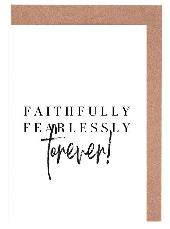 Faithfully Greeting Card Set
