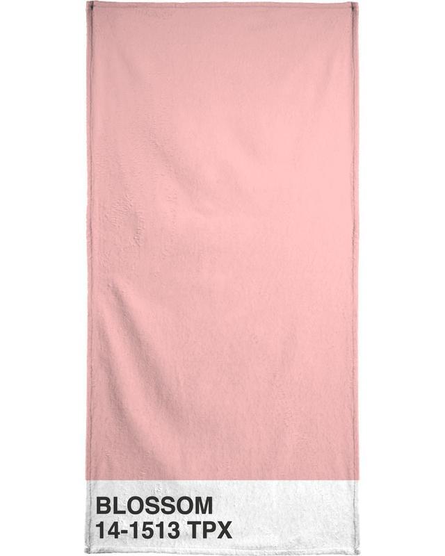 Quotes & Slogans, Blossom Bath Towel