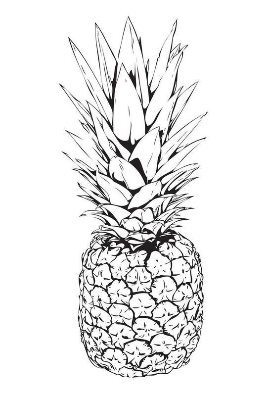 Pineapple Acrylic Print