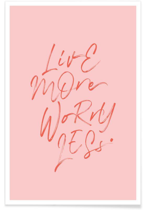 Citations et slogans, Live More affiche