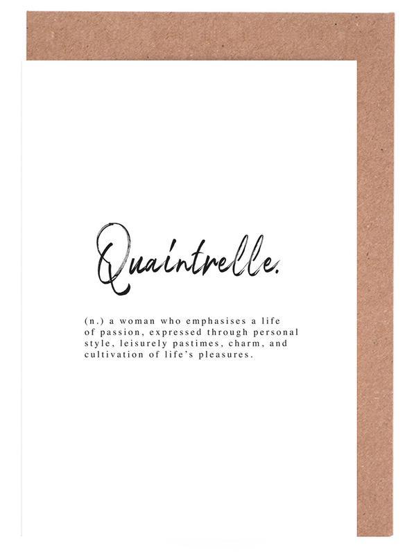 Quaintrelle Greeting Card Set
