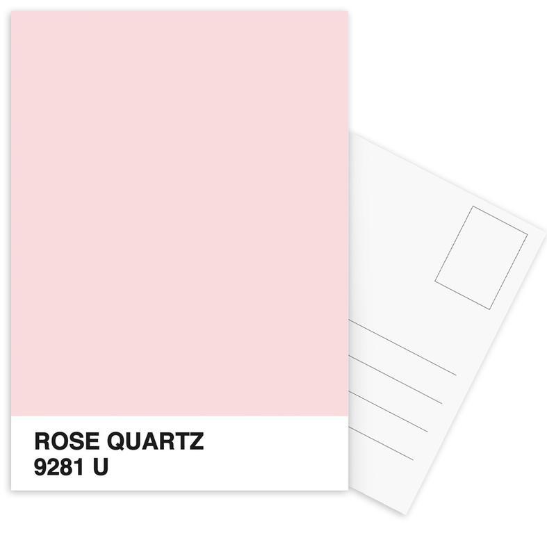 Rose Quartz -Postkartenset
