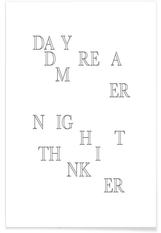 Noir & blanc, Day Dreamer affiche
