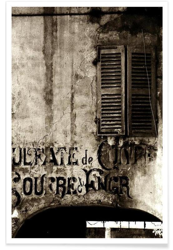 Détails architecturaux, Past So Close affiche