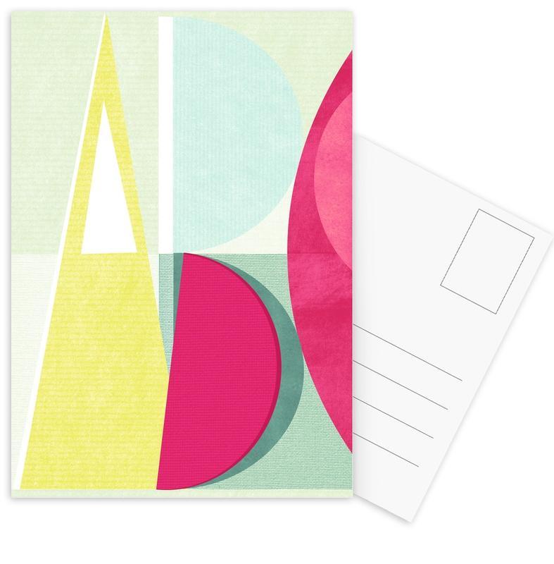 Alphabet & Letters, ABC Postcard Set