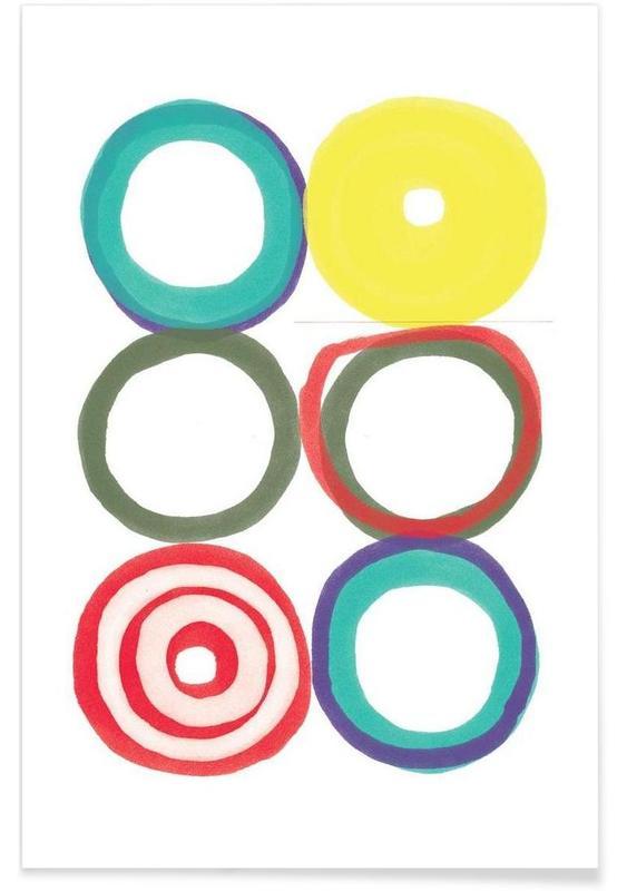 , Circles Poster