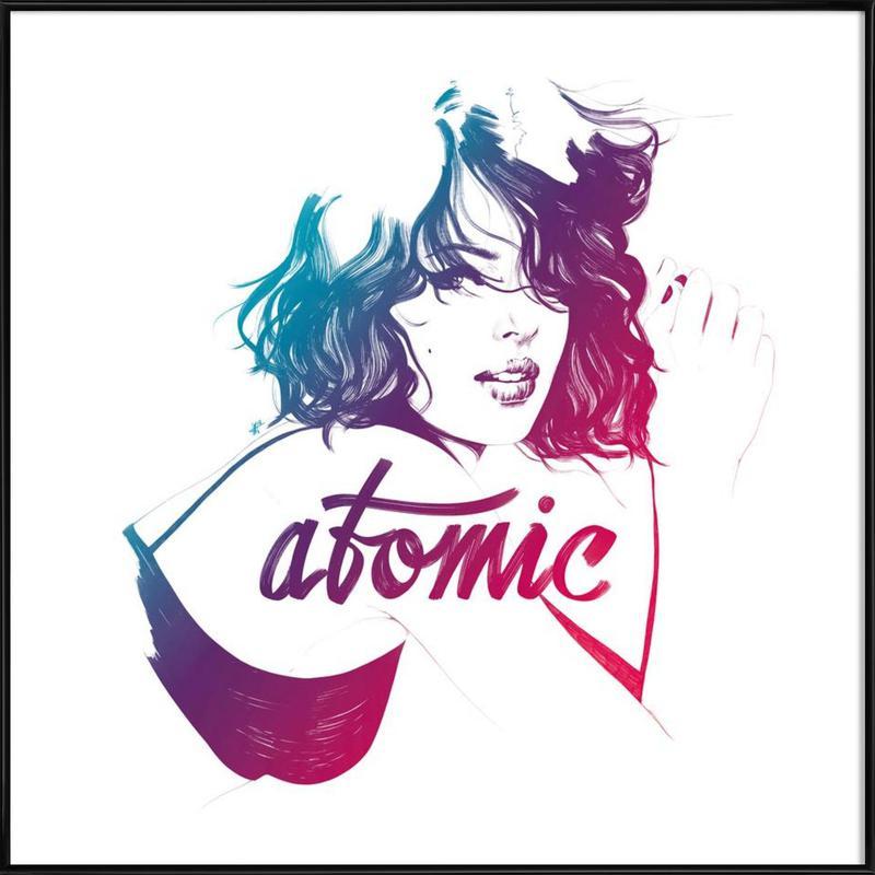 Atomic Framed Poster