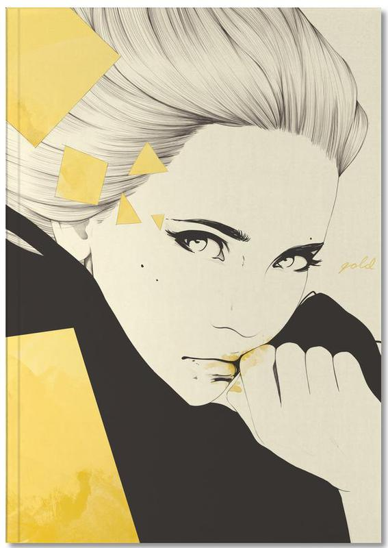 Portraits, Gold Notebook