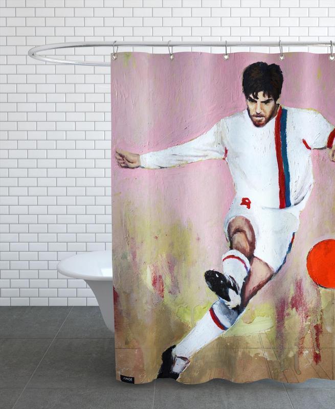 Football, One Love - Lyon Shower Curtain