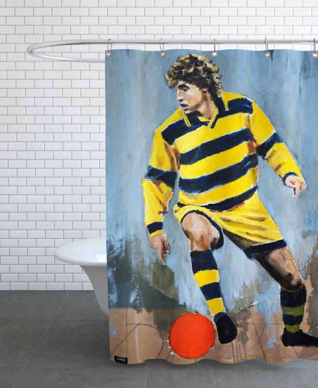 Football, One Love - Parma Shower Curtain