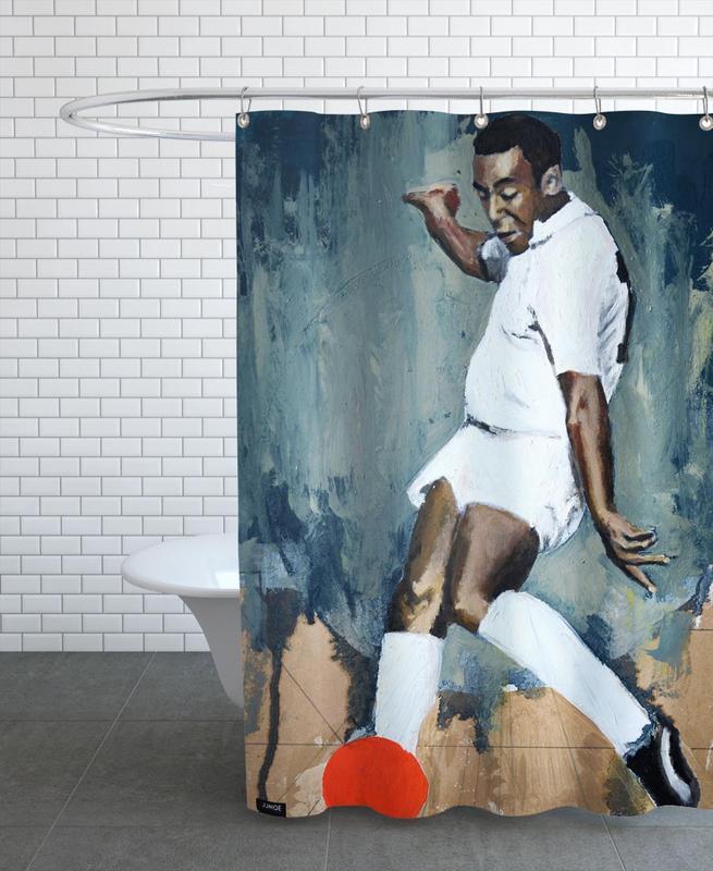 Football, One Love - Santos Shower Curtain