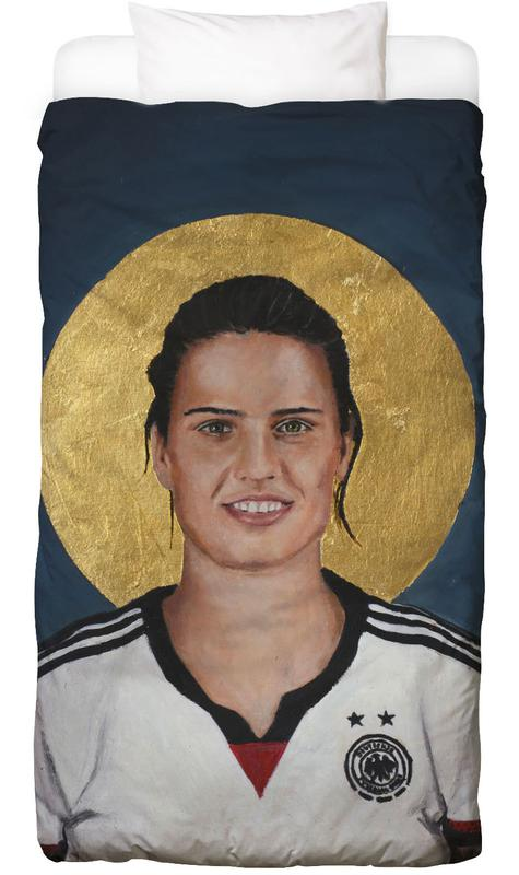 , Football Icon - Dzsenifer Marozsán Bed Linen