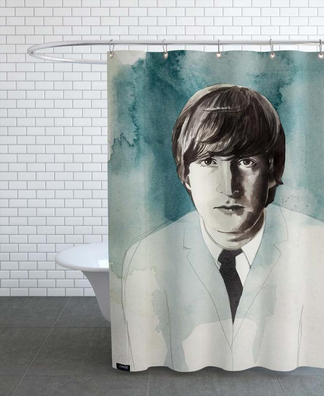 , John Lennon -Duschvorhang