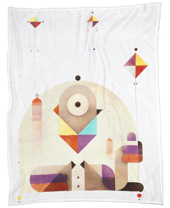 Kite Master Fleece Blanket